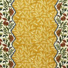 Bosphorus Yellow 100% Linen Lee  Jofa Fabric by designer Eric Cohler