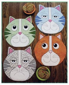 Use quilt patterns from Annie's to create beautiful and traditional quilts to decorate your home. Handmade quilts also make thoughtful gifts or keepsakes to hand down. Sewing Patterns Free, Free Sewing, Quilt Patterns, Cat Quilt, Book Quilt, Sewing Hacks, Sewing Crafts, Sewing Tips, Sewing Tutorials