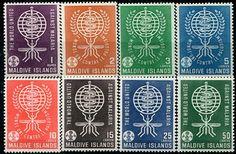Francobolli . Lotta contro la malaria - Malaria on Stamps Maldive 1962