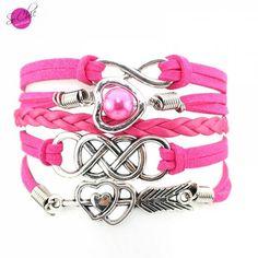 Bracelet infinity Cupidon - Boutique Sochic  >>>