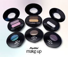 No Make It: Novas embalagens de duos de sombras Panvel Make Up