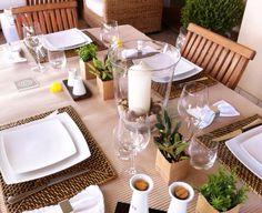 #tablesetting #dinner #alfrescodinner #tableware #tableideas #miseenplace