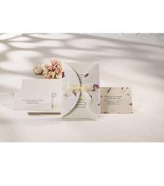 Wilton® Wedding Invitation Kit-Pressed Floral Lavender