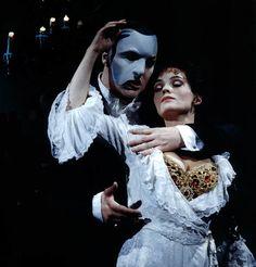 I'm definitely feeling the love. Phantom (John Owen-Jones) and Christine.
