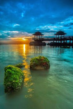 Pulau Ubin Island, Singapore.