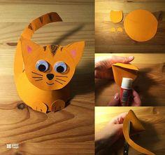 Kočička z kornoutku