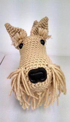 Fergus wheaten Scottish Terrier toy by CarrollHillFarm on Etsy
