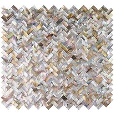 Ivy Hill Tile Lokahi Brume Random Sized Glass Pearl Shell Mosaic Tile in Gold Splashback Tiles, Mosaic Tiles, Wall Tiles, Kitchen Backsplash, Backsplash Ideas, Fireplace Backsplash, Tile Mirror, Backsplash Design, Mosaic Backsplash