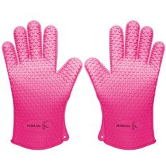Silicone Cooking Gloves, the Perfect Silicone BBQ Gloves  Grill ...
