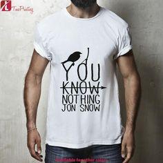 70d28e41c21 You Know Nothing Jon Snow Bird Shirt for Men T-Shirt