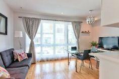 Plateau Condo for sale / Condo 2 Chambres a vendre Montreal, Assurance Habitation, Location, Real Estate, Curtains, Home Decor, Freestanding Bath, Big Windows, Living Spaces