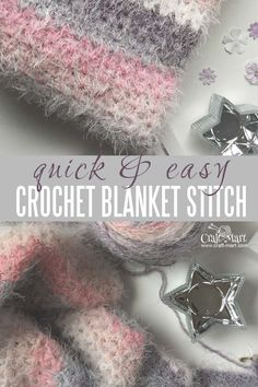 Are you looking for a quick and easy crochet blanket stitch? This stitch is so simple even when you are using a challenging yarn. You can finish your blanket fast even if you are a beginner. A great blanket stitch for your toolbox! #easycrochetstitch #fastblanketstitch #easyblanketstitch #easycrochetblanket