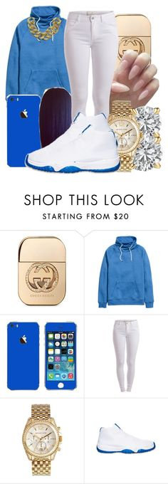 """""""Chanel"""" by honey-cocaine1972 ❤ liked on Polyvore featuring Gucci, Pieces, Michael Kors, Retrò, ASOS, women's clothing, women, female, woman and misses"""