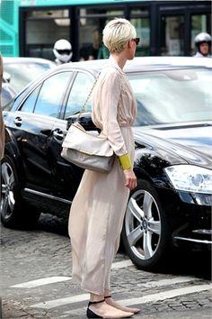 soft  long dress   Paris Menswear Day 5 - Vogue.it