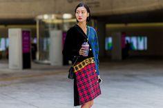 seoul fashion week ss17 street style