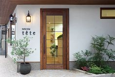 理容,内装,施工例 Coffee Shop Bar, Coffee Store, Coffee Shop Design, Cafe Interior, Shop Interior Design, Store Design, Retail Facade, Shop Facade, Signage Design