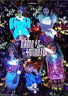4MINUTE - NAME IS 4MINUTE (mini Album) CD + GIFT