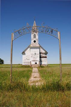 Bethesda Lutheran Church-Abandoned North Dakota by j_piepkorn65, via Flickr