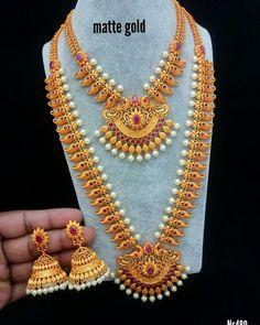 Gold Jewelry In China Info: 2590081753 Gold Jhumka Earrings, Jewelry Design Earrings, Gold Earrings Designs, Gold Jewellery Design, Gold Necklace, Fancy Jewellery, Gold Temple Jewellery, Gold Jewelry, Jewelry Art