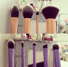 New Real Techniques brushes makeup Now the promotion, discount of $ 5 on their first purchase less than $ 40 or $ 10 on their first purchase over $ 40 with coupon iHerb OWI469 http://darkred.clipsharedemo.com/video/1866/Real-Techniques-by-Samantha-Chapman-$10 Real Techniques Brush Kits (Top: Core Collection. Bottom: Starter Set) Available on http://amazon.com #realtechniques #realtechniquesbrushes #makeup #makeupbrushes #makeupartist #brushcleaning #brushescleaning #brushes