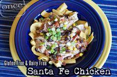 Gluten Free Dairy Free Santa Fe Chicken