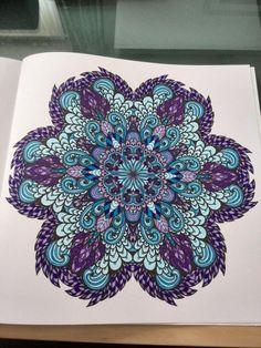 Uit het enige echte mandala kleurboek