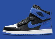 The Air Jordan 1 FlyEase To Appear In A Royal Inspired Colorway Nike Snkrs, Jordan 1 High Og, Air Jordan Shoes, Cool Tones, Nike Air Force, Royals, Air Jordans, Sneakers Nike, Footwear