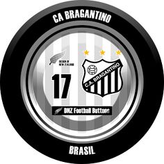 DNZ Football Buttons: CA Bragantino                                                                                                                                                                                 Mais
