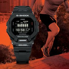 Casio drops some thin and light sports watches Watch Websites, G Shock Mudman, Moves App, Black Mannequin, Rugged Watches, Play The Video, Fitness Watch, Sport Watches, Casio