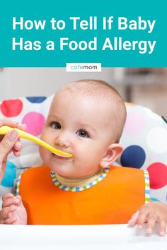 As you introduce new foods, you might find yourself worried your baby could be allergic to one of them. Here are some of the most common food allergy … – Organics® Baby food Most Common Food Allergies, Food Allergy Symptoms, Allergy Reactions, Seasonal Allergies, Baby Food Recipes, New Recipes, Food Baby, Allergic Reaction To Food, Baby First Foods