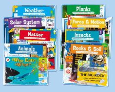 #LakeshoreDreamClassroom Learning Science Libraries - Gr. 1-3 - Complete Set