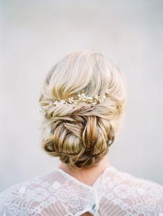 18 Beautiful Bridal Updos You Need to Consider! | weddingsonline