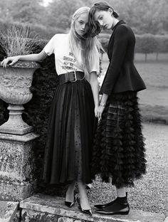 Photo Vogue UK February 2017 by Karim Sadli