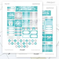 Tiffany June Month View Printable Planner by Scrapcraftastic