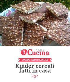 Kinder cereali fatti in casa Easy Smoothie Recipes, Easy Smoothies, Good Healthy Recipes, Sweet Recipes, Snack Recipes, Coconut Smoothie, Pumpkin Spice Cupcakes, Cinnamon Cream Cheeses, Coconut Recipes