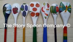 The Very Hungry Caterpillar Story Spoons