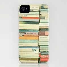 I just ordered this Bookworm iPhone case by Cassia Beck! I've never had a case for my iPhone 4 — this one seems perfect. Cool Iphone Cases, Iphone 4s, Iphone Case Covers, Think, I Love Books, Book Nerd, Reading, Book Worms, Book Lovers