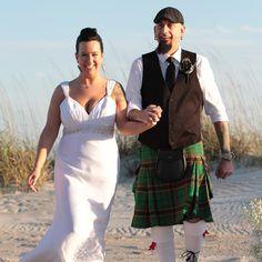 CONGRATULATIONS Chad and Erica!!! #stephenpalmerweddings #beachwedding #tybeeisland