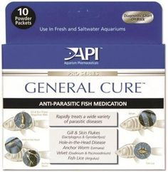 API General Cure Powder Packets - 10 pk - ON SALE! http://www.saltwaterfish.com/product-api-general-cure-powder-packets-10-pk