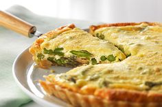 Your turn to host brunch? No problem. Our creamy asparagus tart is packed with cheesy flavour. It's a tastier take on your morning egg bake.