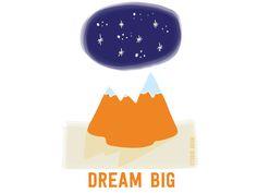 Dream big! http://helloadventurer.nl/ a project by Studio Brun