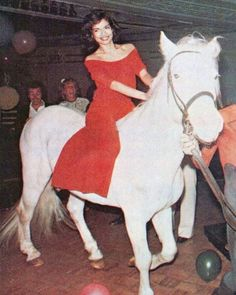 Bianca Jagger  Studio 54. 1977