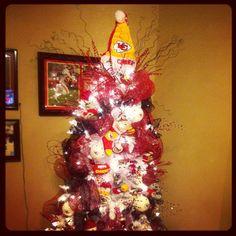 Kansas City Chiefs tree
