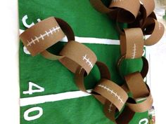 Check out this fun superbowl kids craft with 3 math activities for the classroom