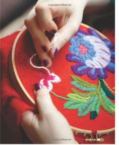 EllesHeart Loves ~ Embroidery Elegance ~ Scandinavian Stitch Craft: Unique Projects and Patterns for Inspired Embroidery: Karin Holmberg Crewel Embroidery, Embroidery Applique, Cross Stitch Embroidery, Embroidery Patterns, Diy Embroidery Projects, Scandinavian Embroidery, Embroidery Techniques, Sewing Crafts, Needlework