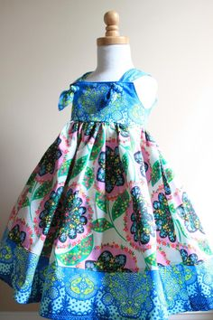 Perfect dress for your little spring flower <3