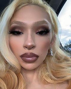 Glam Makeup Look, Edgy Makeup, Makeup Goals, Makeup Inspo, Skin Makeup, Eyeshadow Makeup, Makeup Inspiration, Makeup Art, Beauty Makeup