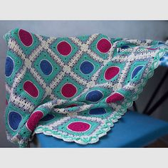 Done✨ my new #crochet blanket #yarn #Alize bahar , hook 3  new post: http://fionitta.com/2015/jule-blanket