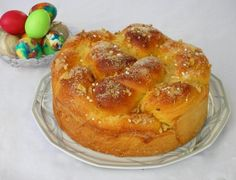 Bulgarian Easter bread (recipe with picture) by Bookmark and Share Easter Bread Recipe, Bread And Pastries, Food Pictures, Apple Pie, Bread Recipes, Macaroni And Cheese, French Toast, Breakfast, Ethnic Recipes