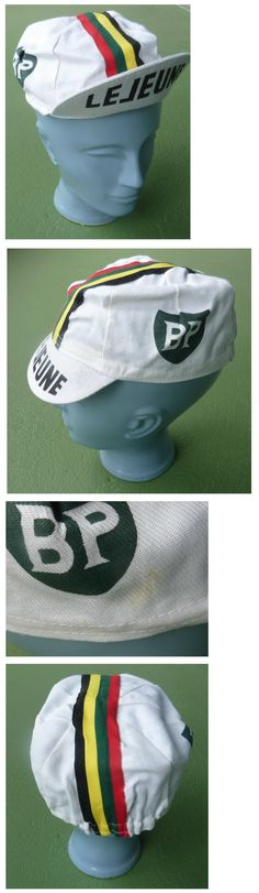Hats Caps and Headbands 158994: Original Vintage 1976 Team Bp Lejeune Cycling Cap - Tour De France -> BUY IT NOW ONLY: $39 on eBay!